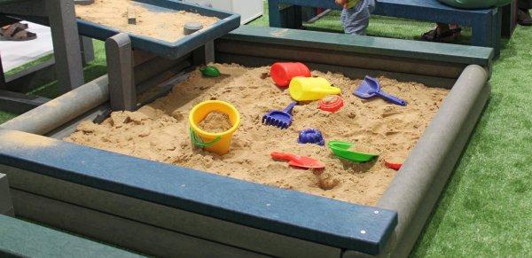 Kunststoff Sandkasten Dahna