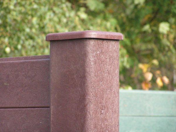Kunststoff Sichtschutzwand (aus Einzelzeilen)