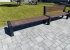 Kunststoffbank Hyde Park Anbaumodul